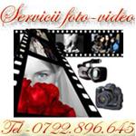 Servicii foto-video 0722.896.645